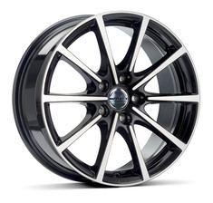 BORBET BL5 BLACK POLISHED GLOSSY